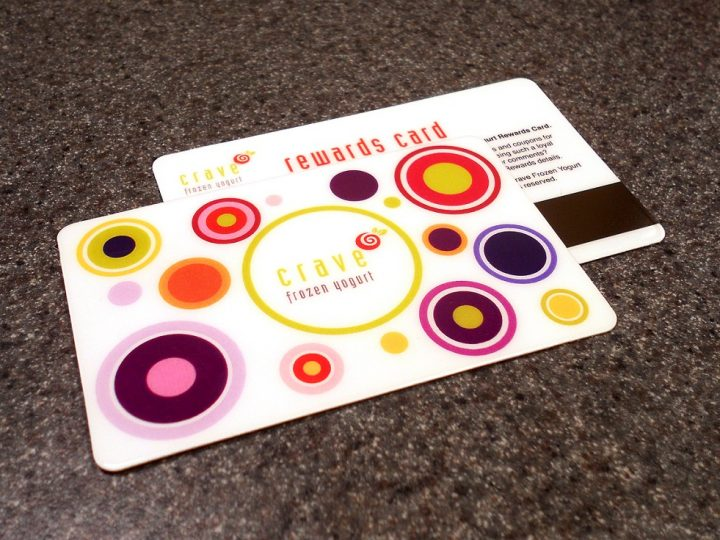 Print plastic cards for your loyal customers