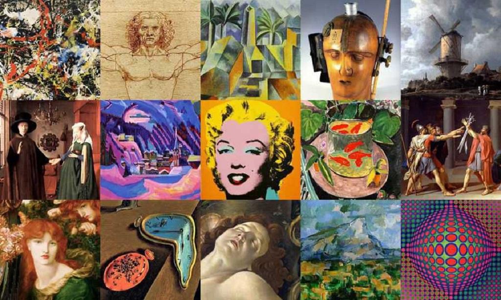 types of art