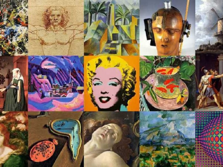 The 20 types of art that exist